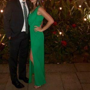 Bcbg green gown
